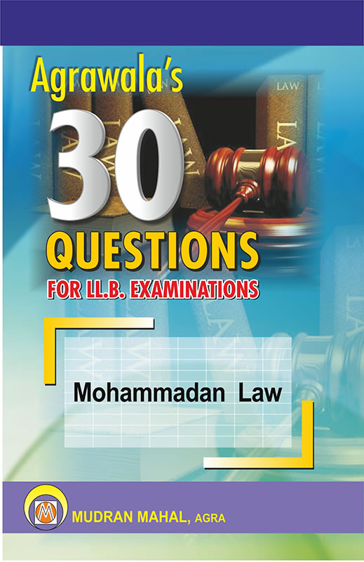 Mohammadan Law
