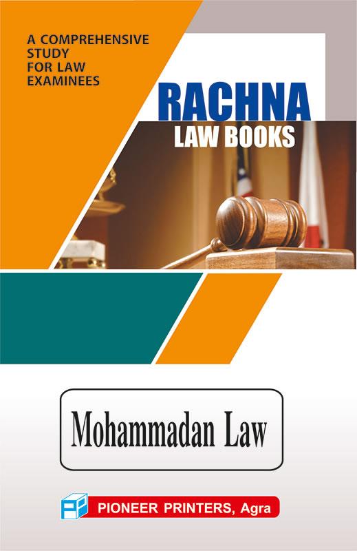Mohammadan Law