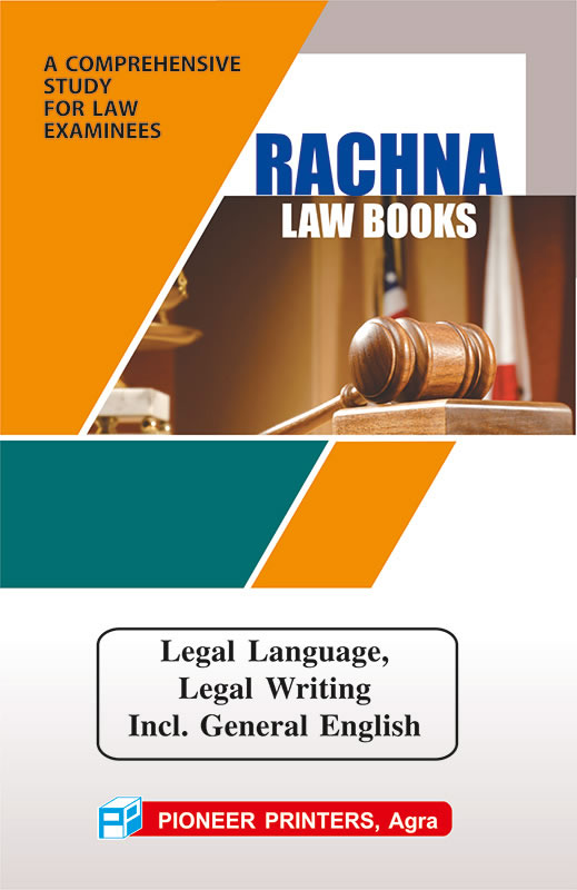 Legal Language, Legal Writing & General English
